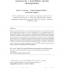 Efficient Parallel Solution of Nonlinear Parabolic Partial Differential Equations by a Probabilistic Domain Decomposition