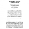 Efficient Parallelized Network Coding for P2P File Sharing Applications