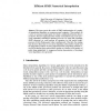 Efficient SIMD Numerical Interpolation