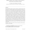 Efficient update of the covariance matrix inverse in iterated linear discriminant analysis