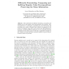 Efficiently Downdating, Composing and Splitting Singular Value Decompositions Preserving the Mean Information