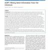 eGIFT: Mining Gene Information from the Literature