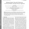 Eliciting Patients' Revealed Preferences: An Inverse Markov Decision Process Approach