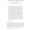 Emergent Consensus in Decentralised Systems Using Collaborative Reinforcement Learning