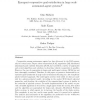 Emergent Cooperative Goal-Satisfaction in Large Scale Automated-Agent Systems