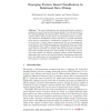 Emerging Pattern Based Classification in Relational Data Mining