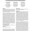 EmotionSense: a mobile phones based adaptive platform for experimental social psychology research