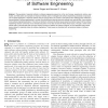 Empirical Methods in Software Engineering Research