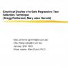Empirical Studies of a Safe Regression Test Selection Technique
