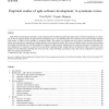 Empirical studies of agile software development: A systematic review