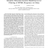 Empirical Study of a National-Scale Distributed Intrusion Detection System: Backbone-Level Filtering of HTML Responses in China