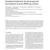 Emulation framework for the design and development of active RFID tag systems