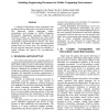 Enabling Engineering Document in Mobile Computing Environment