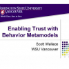 Enabling Trust with Behavior Metamodels