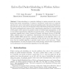 End-to-end packet-scheduling in wireless ad-hoc networks