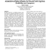 End user programming and context responsiveness in handheld prompting systems for persons with cognitive disabilities and caregi