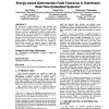 Energy-aware deterministic fault tolerance in distributed real-time embedded systems