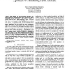 Energy Efficiency in the Mobile Ad Hoc Networking Approach to Monitoring Farm Animals