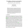 Energy Efficiency of Thermal-Aware Job Scheduling Algorithms under Various Cooling Models