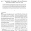 Energy-Efficient Protocol for Deterministic and Probabilistic Coverage in Sensor Networks