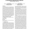 Energy-efficient scheduling on homogeneous multiprocessor platforms