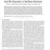 Energy-Optimal Scheduling with Dynamic Channel Acquisition in Wireless Downlinks