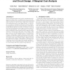 Energy-performance tradeoffs in processor architecture and circuit design: a marginal cost analysis