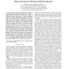 Energy-Saving 3-Step Velocity Control Algorithm for Battery-Powered Wheeled Mobile Robots