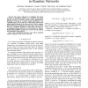Energy Scaling Laws for Distributed Inference in Random Networks