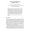 Engineering Self-modeling Systems: Application to Biology