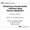 Enhancing a Human-Robot Interface using Sensory Egosphere