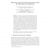 Enhancing Content-Based Recommendation with the Task Model of Classification
