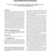 Enhancing group recommendation by incorporating social relationship interactions