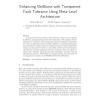 Enhancing NetBeans with Transparent Fault Tolerance Using Meta-Level Architecture