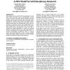 Enhancing undergraduate education: a REU model for interdisciplinary research