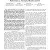 EntomoModel: Understanding and Avoiding Performance Anomaly Manifestations