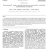 Environmentally adaptive acoustic transmission loss prediction in turbulent and nonturbulent atmospheres