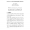 Equivalence in Template-Guided Recombination