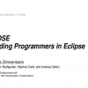 eROSE: guiding programmers in eclipse