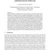 Erzeugung kalibrierter, metrischer Distanzen mittels multidimensionaler Skalierung
