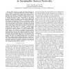 ESC: Energy Synchronized Communication in Sustainable Sensor Networks