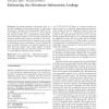 Estimating the maximum information leakage