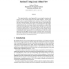 Estimating the Structure of Textured Surfaces Using Local Affine Flow