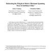 Estimating the weight of metric minimum spanning trees in sublinear-time