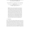 Estimation of Class Membership Probabilities in the Document Classification