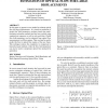 Estimation of optical flow for large displacements