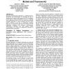 Evaluating computer-supported cooperative work: models and frameworks