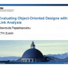 Evaluating Object-Oriented Designs with Link Analysis