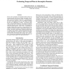 Evaluating Temporal Plans in Incomplete Domains
