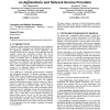 Evaluating the impacts of network information models on applications and network service providers